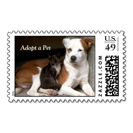 Adopt A Pet Postage Wanna Make Each Letter A Special Delivery