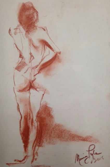 91bfe606f67a970dc646fbb232eb76a4 » Famous Conte Crayon Drawings