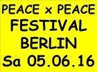 #Ticket  TICKETS PEACE x PEACE FESTIVAL BERLIN WALDBÜHNE 05.06.16 EINTRITTSKARTEN KARTEN #Ostereich
