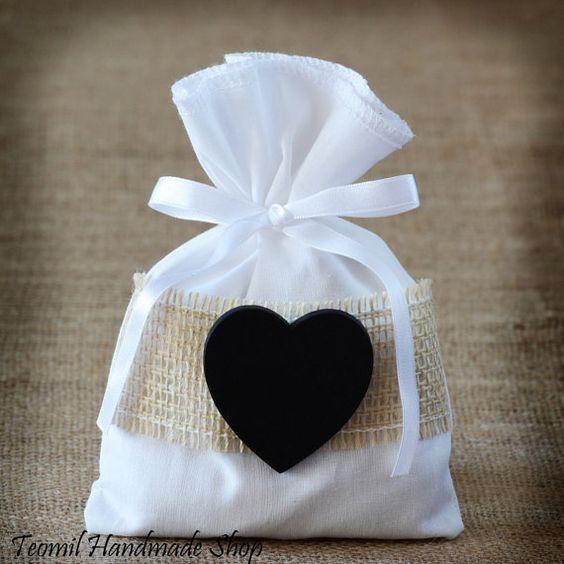 Boda Favor bolsa bolsa de recuerdo o personalizada Favor por Teomil, $70.00