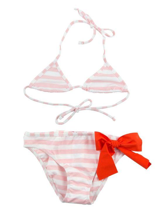 Striped girls bikini  I  Beachwear  I  Il Gufo