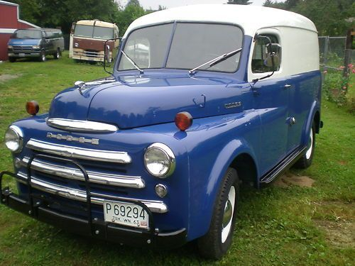 1950 Dodge Panel Truck Camiones Camionetas Coches