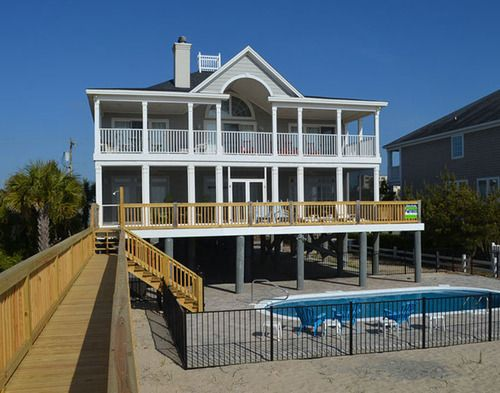 Garden City Beach Rental Beach Home All Aboard Myrtle Beach