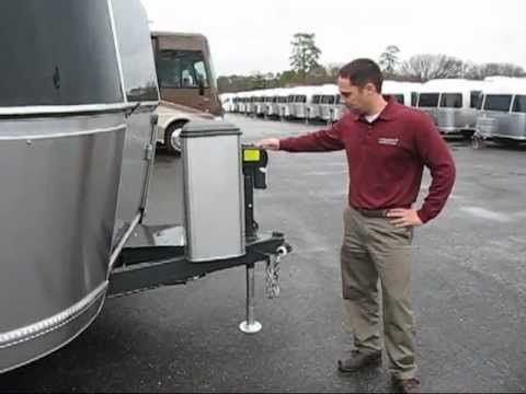 Airstream Travel Trailer How To Remove Spare Tire Flat Tire Blowout Tow Airstream Travel Trailers Flat Tire Rv Travel