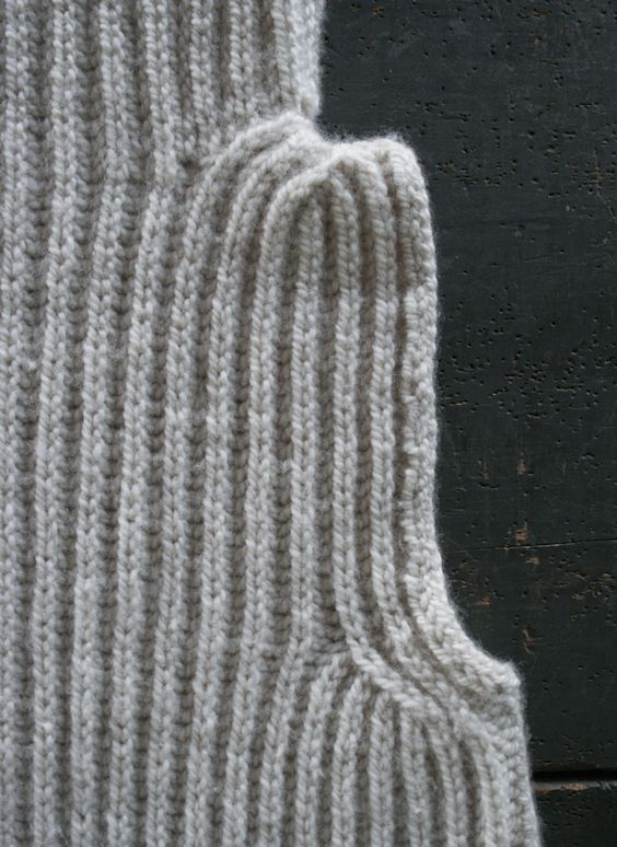 Basic Knit Stitch Left Handed : Brioche Stitch: Basic Decrease The Purl Bee hand knitted Pinterest Pu...