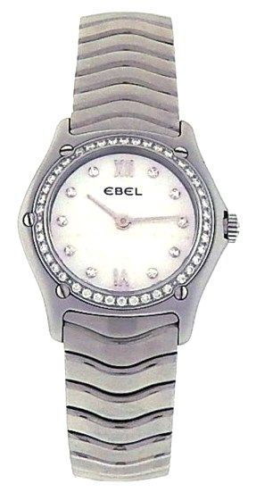 Ebel Wave E9090F24 Stainless Steel Ladies Watch