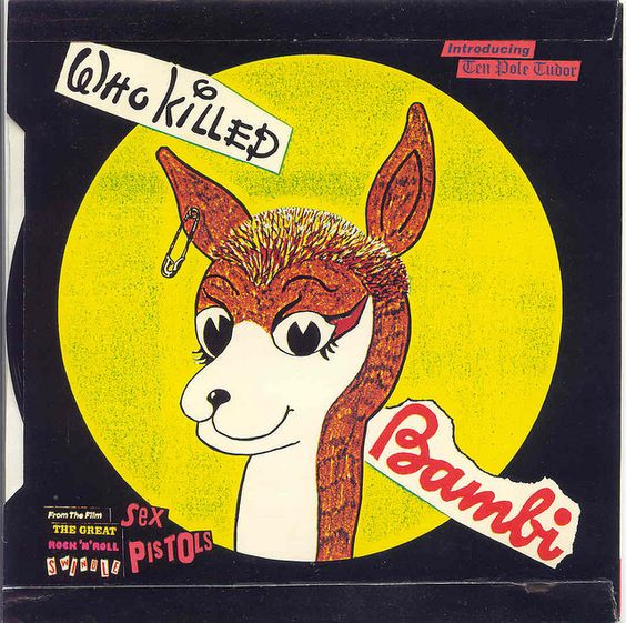 SEX PISTOLS  / Tenpole Tudor (Silly Thing Reverse) Who Killed Bambi by Blurred Crusade, via Flickr