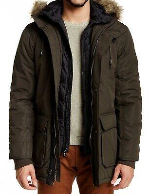 Details About English Laundry Mens Coat Olive Green Size Medium M