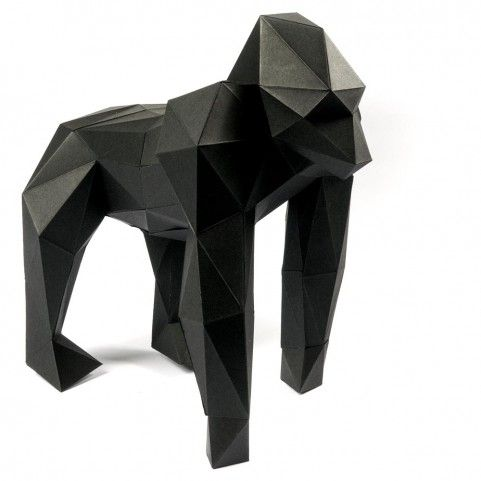 Bethge | Gorilla made of paper.