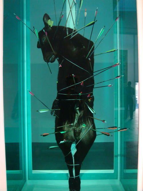 """""""St. Sebastian, Exquisite Pain"""" Damien Hirst"""