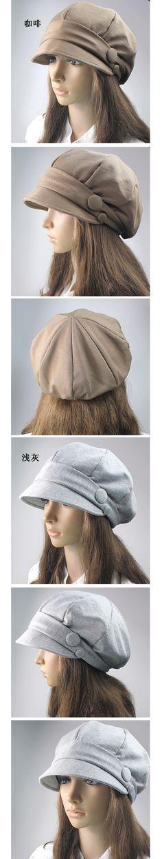 envío gratis sombrero de mujer otoño e invierno moda pequeño cubo sombrero sombreros copa el pato lengua boina grandes y pequeños en Sombreros de cubo de Moda y Complementos en AliExpress.com | Alibaba G