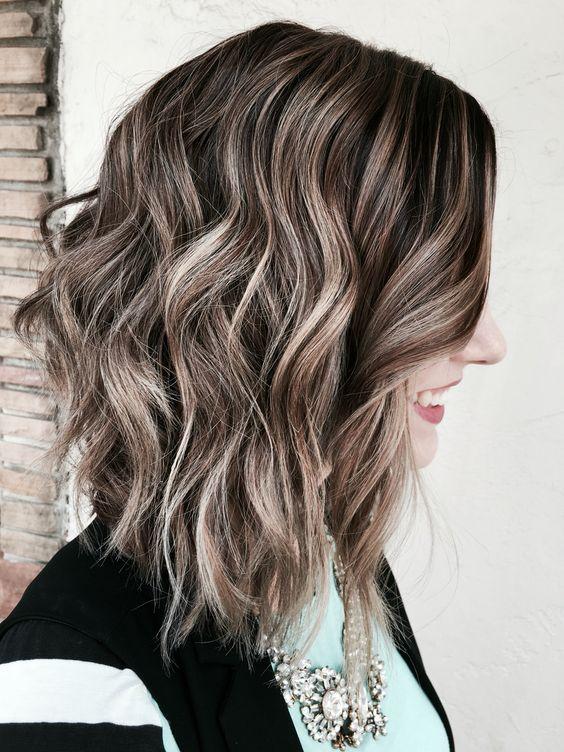 Ash blonde brown balayage hair pinterest ash for Balayage braun blond