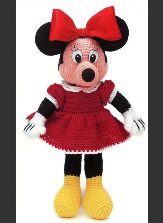 Minnie Mouse Amigurumi Crochet Pattern : Patterns, Crochet and Mice on Pinterest