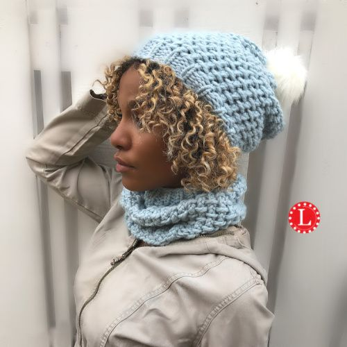 Loom Knit A Linen Stitch Hat Step By Step Video Tutorial For The Pattern This Is An Cool And El Chunky Knitting Patterns Loom Knitting Loom Knitting Patterns