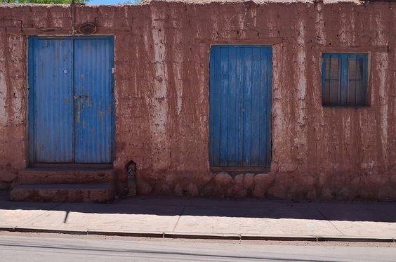 Alguna calle en San Pedro de Atacama. Chile