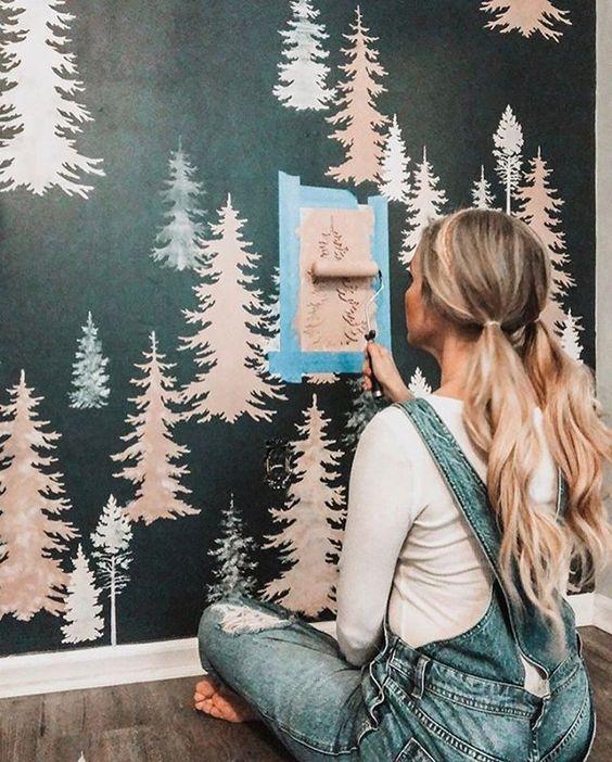 6 Ý tưởng sơn tường đẹp, sáng tạo 5