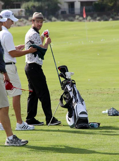 Justin Timberlake Shriners Open held at the TPC Summerlin in Nevada on October 3rd.