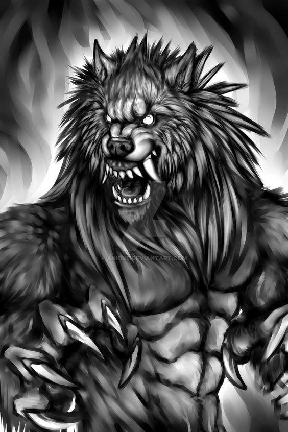 Nice werewolf - photo#37