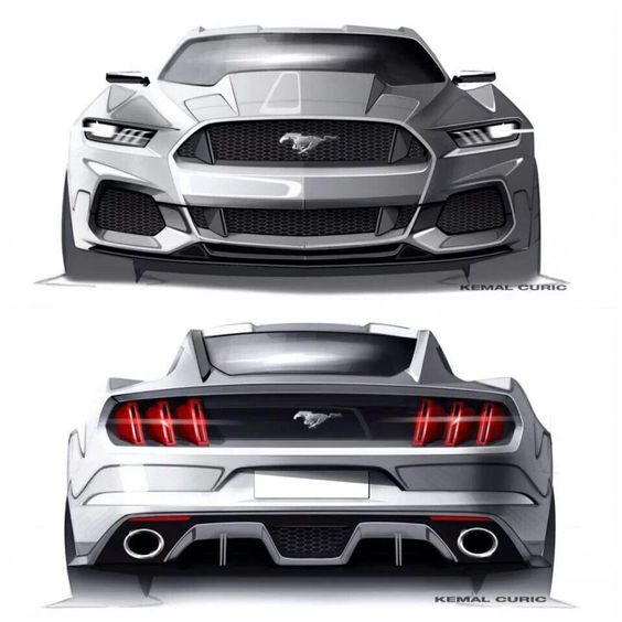Mustang Concept... Wish the production model looked this bad ass.: