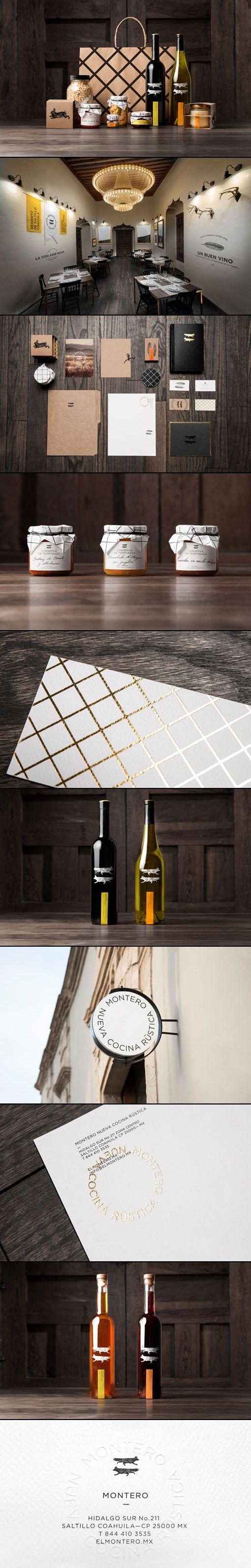 Montero | Anagrama #branding #identity #packaging PD