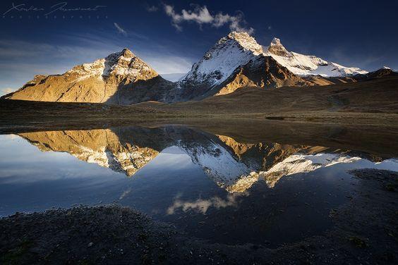 The smoking mountain by Xavier Jamonet on 500px