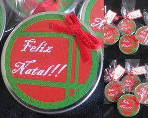 Latinhas personalizadas natalinas