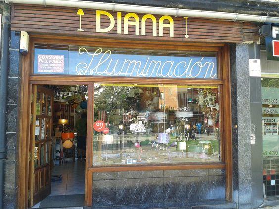 DIANA ILUMINACION Plaza de Villamonte, 8 lonja 48990 ALGORTA/GETXO Tel. 944305046 #iluminacion #electricidad #getxo #getxotienepremio