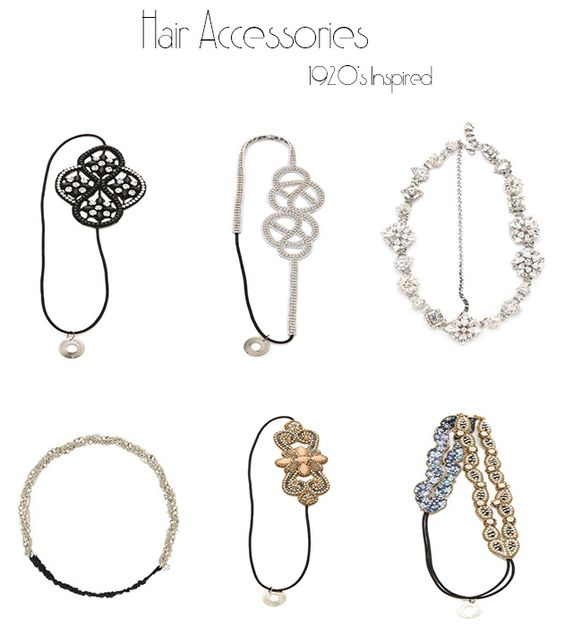 Hair Accessories - 1920's inspired