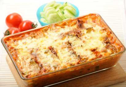 Idées de plats à congeler ... Lasagne végétarienne aux légumes grillés