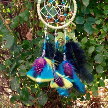 "Exotic 3"" Dream catcher car accesory"