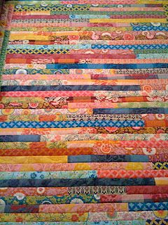 Line by Line quilt with Anna Maria Horner jelly rolls