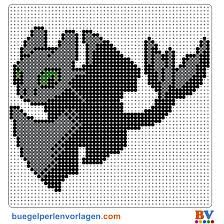 toothless hama bead pattern - Google Search