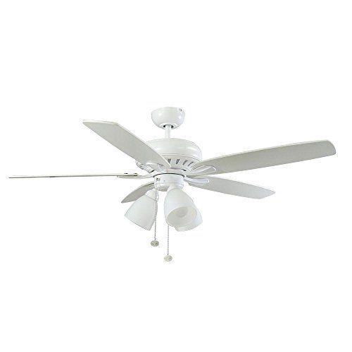 Rockport 52 Inch Large Room Ceiling Fan Hampton Bay White Ceiling Fan Ceiling Fan Brushed Nickel Ceiling Fan