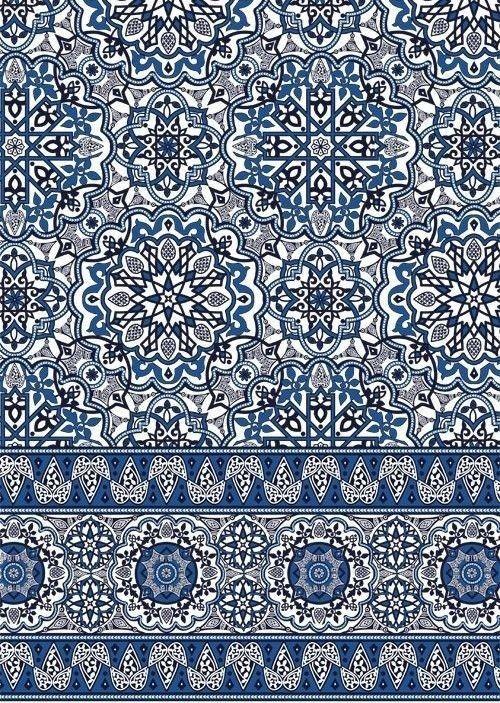 Pin By S Root On Variados Border Print Tiles Moroccan Tile