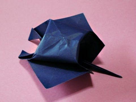 「ふっくらマンタ( Manta ray)」の折り方/Origami-balloon - YouTube