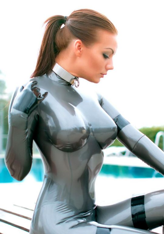 in catsuit bondage girl Sexy latex