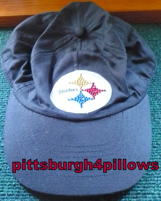 Ladies - Pittsburgh Steelers Bling Rhinestone Baseball Cap - Soft Top - Adjustable Strap by pittsburgh4pillows on Etsy