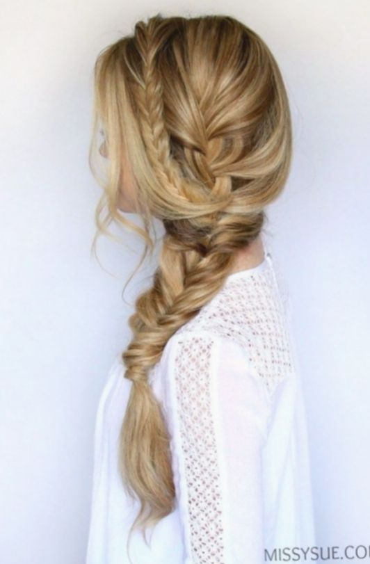20 Hairstyles Updo Casual Side Braids Side Braid Hairstyles Long Hair Styles Long Hair Wedding Styles