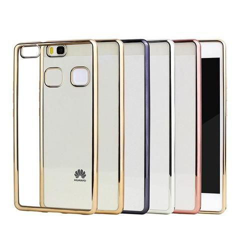 Plating Phone Case For Huawei P9 Lite Cover Silicone Ultra Thin ...