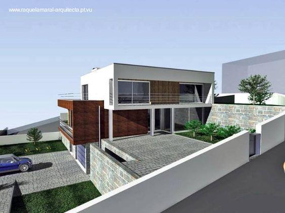 Arquitectura de casas casa en desnivel estilo for Estilos de casas arquitectura