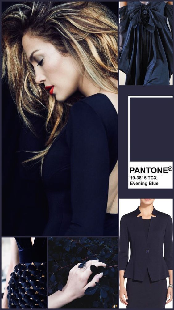 PANTONE Evening Blue