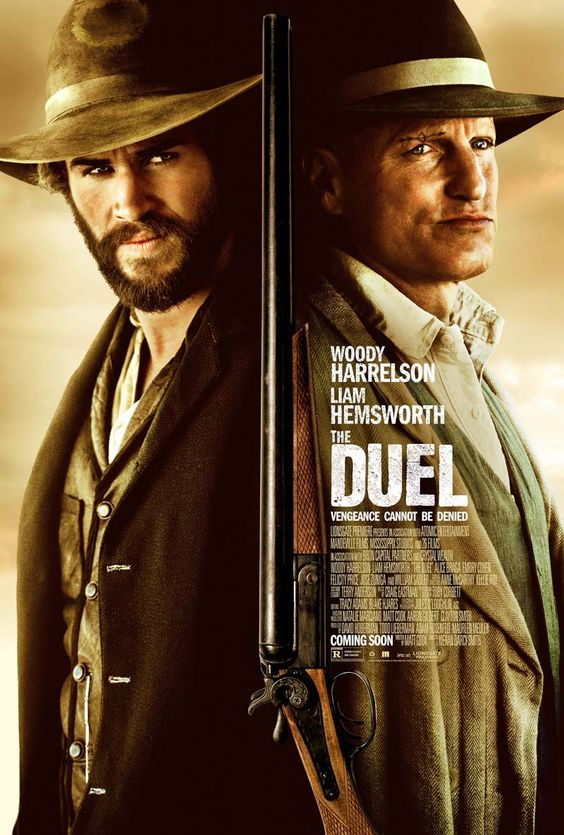 Poster: The Duel - Póster y trailer con Liam Hemsworth y Woody Harrelson