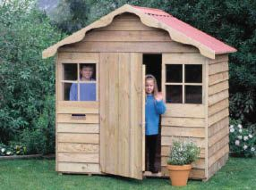 Mitre 10 build a cubby house build a shed or buy a shed for Design a shed cubbies