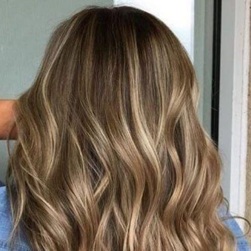 braune haare hell
