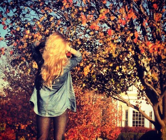 fall hair.