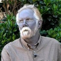 This man has blue skin from taking colloidial silver, a homeopathic remedy. Taking it for a long period of time can turn the skin blue or gray and it's permanent.
