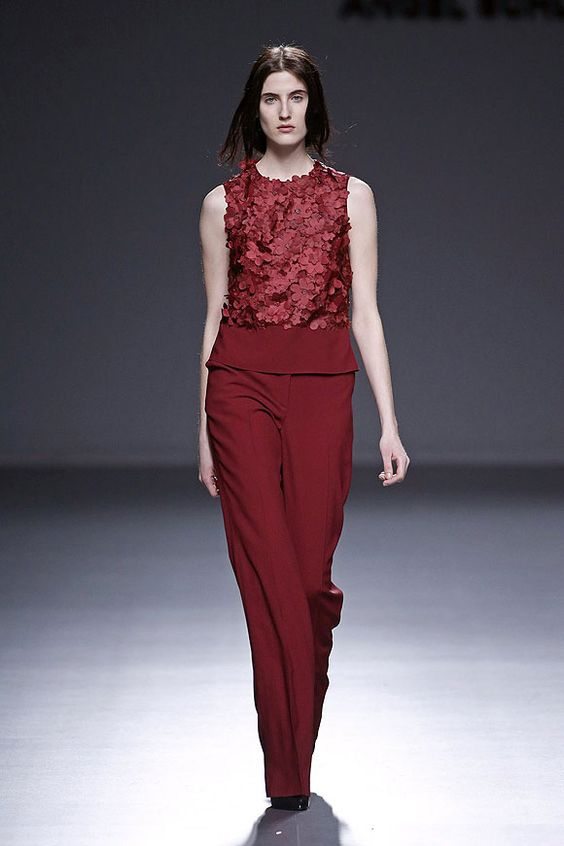 Fashion week Madrid. Otoño invierno 2014 - 2015. Angel Schlesser