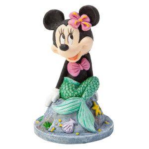 Petsmart disney mermaid minnie aquarium ornament for Disney fish tank