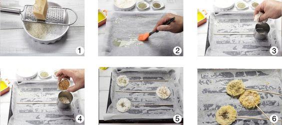 Piruletas de Parmesano Ybarra | Ybarra en tu cocina