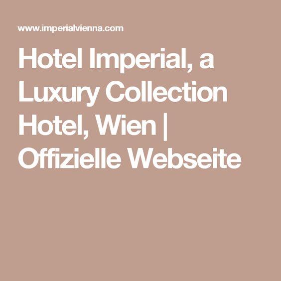 Lovely The best Hotel imperial wien ideas on Pinterest Wien fluss Cafe demel wien and Hochzeitslocation wien